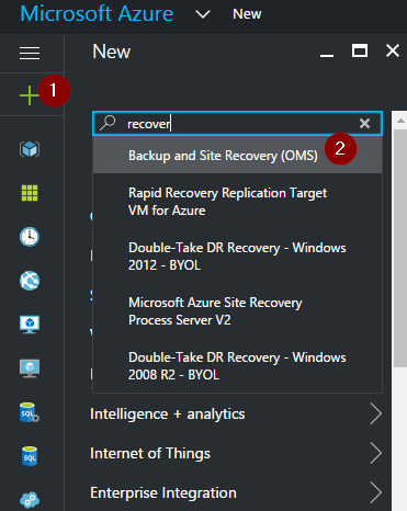 Azure Backup and Recovery Services – Configure Long Term