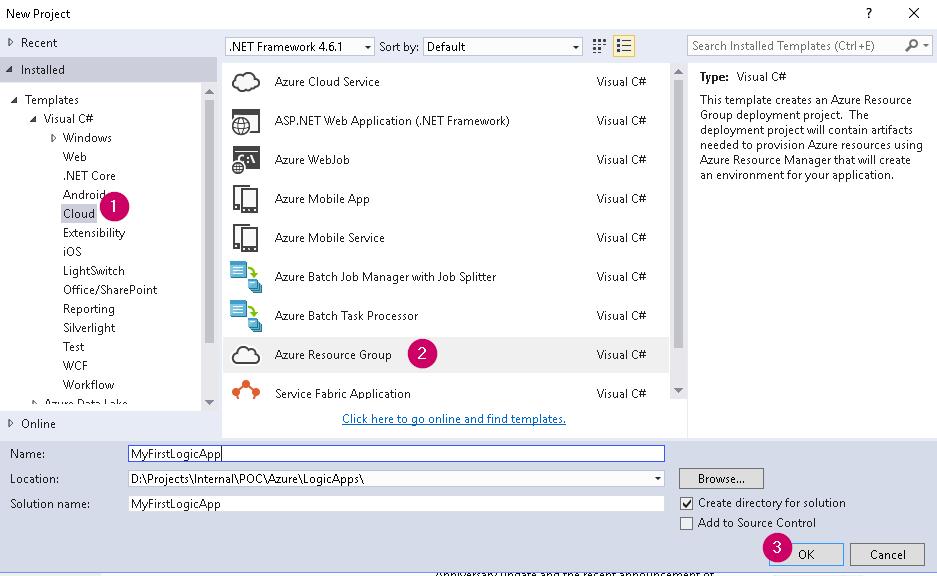 Install Visual Studio Tools for Azure Logic Apps – Praveen Kumar