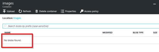 Azure Storage Account – Create Block Blob Programmatically