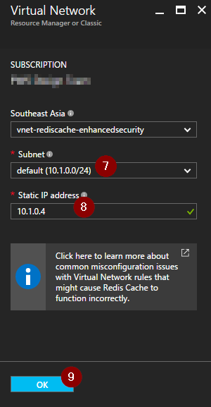 Azure Redis Cache Enhanced security and network isolation – Praveen