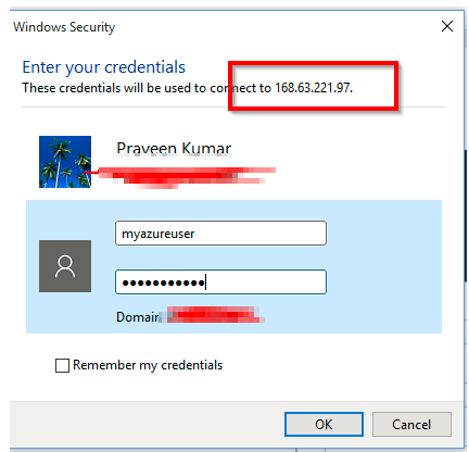 Azure Virtual Machine – Configure Static IP Address