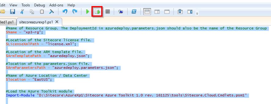 Sitecore XP1 on Azure – Step5 – Deploy using PowerShell
