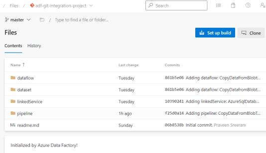 ADF - Azure DevOps - Complete - DevOps View