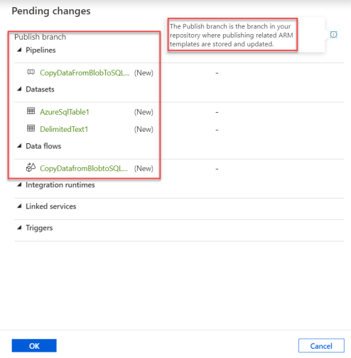 3.Azure Data Factory - Azure DevOps - adf_Publish - Publish Pending Changes
