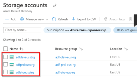5.Storage accounts - Microsoft Azure