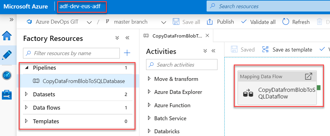 Azure Data Factory - Automated deployments CI CD using Azure DevOps - Stg ADF - After Manual Release