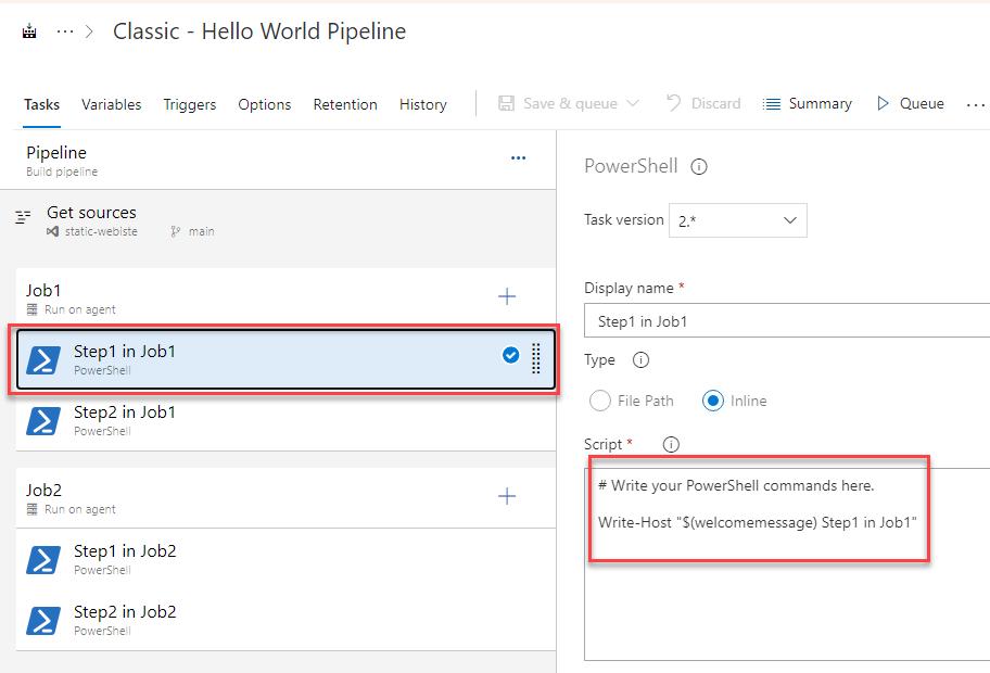 Azure DevOps - Convert Classic to YAML Pipelines - Step